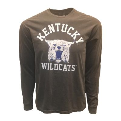 Kentucky Women's Long Sleeve Vault Logo Pigment Dyed Tee