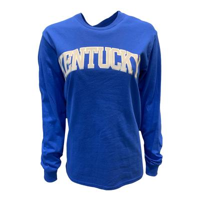 Kentucky Women's Arch Lined Long Sleeve Tee