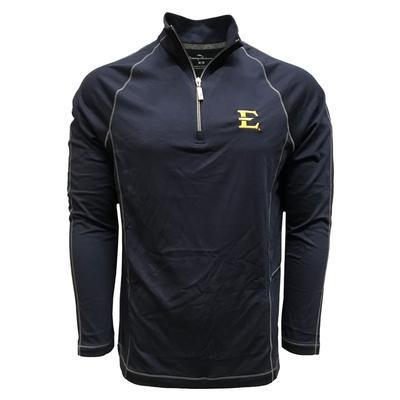 ETSU Tommy Bahama Goal Keeper Half Zip Pullover