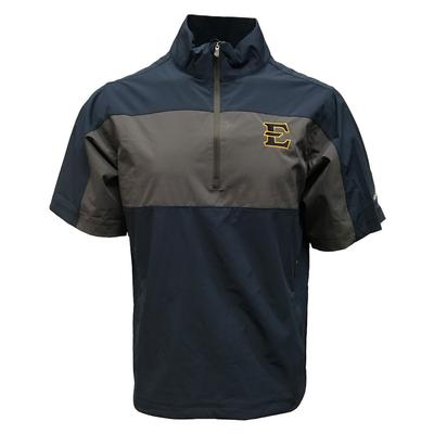 ETSU Columbia Golf Early Riser 1/2 Zip Short Sleeve Pullover