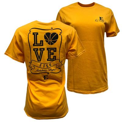 ETSU Women's Love Basketball T-shirt