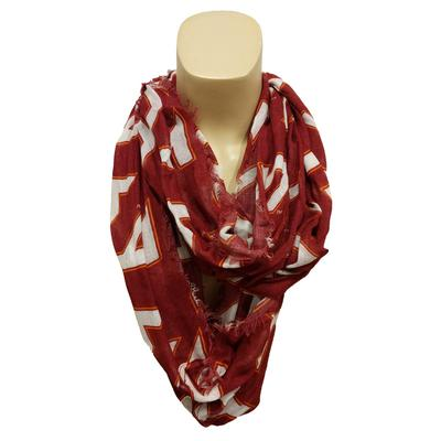 Virginia Tech Logo Infinity Scarf
