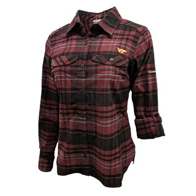 Virginia Tech Columbia Women's Silver Ridge Flannel