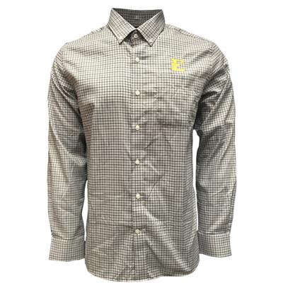 ETSU Cutter & Buck Lakewood Long Sleeve Woven