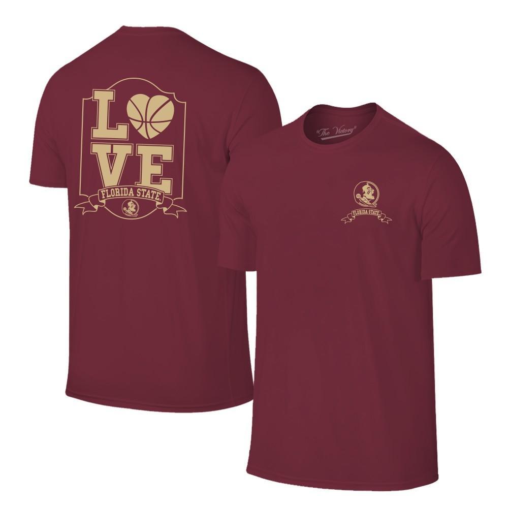Florida State Women's Love Basketball T- Shirt