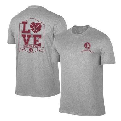 Florida State Women's Love Basketball T-shirt OXFORD