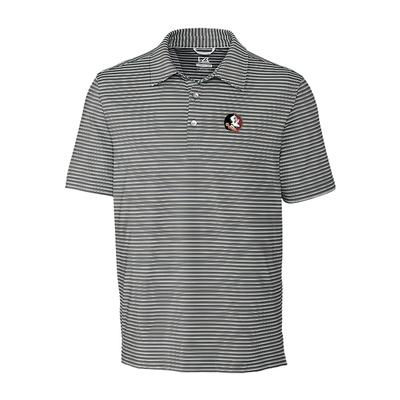 Florida State Cutter & Buck Big and Tall Division Stripe Polo