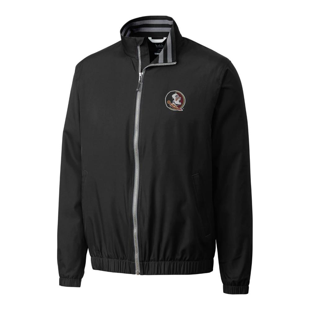 Florida State Cutter & Buck Big And Tall 9 Iron Full Zip Jacket