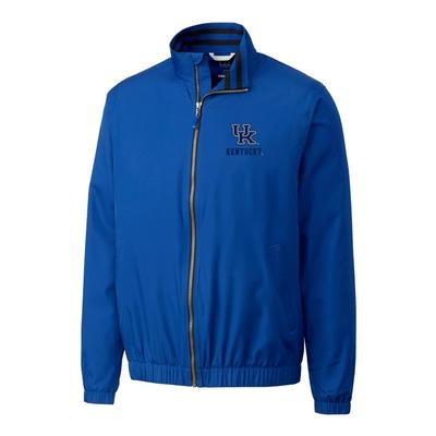 Kentucky Cutter & Buck Big and Tall 9 Iron Full Zip Jacket