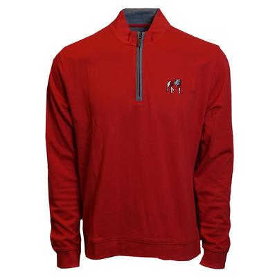Georgia Johnnie-O Sully 1/4 Zip Pullover