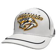 Adidas Men's Nashville Predators Logo Adjustable Hat