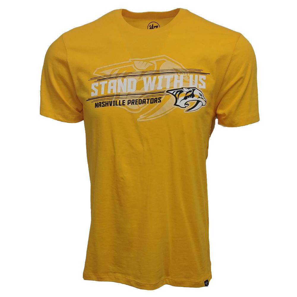 47 Brand Men's Stand With Us Predators T Shirt