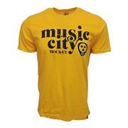 47 Brand Men's Music City Hockey Nashville Predators Club T Shirt