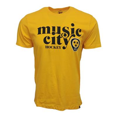 47 Brand Men's Music City Hockey Nashville Predators Club T Shirt