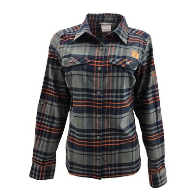 Auburn Columbia Women's Silver Ridge Flannel Shirt