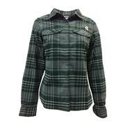 Michigan State Columbia Women's Silver Ridge Flannel Shirt