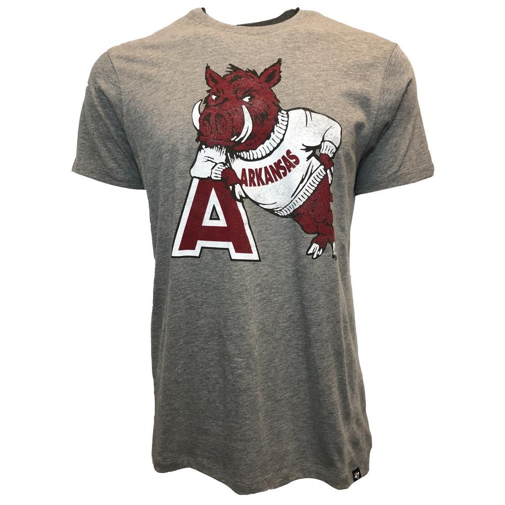 Arkansas 47 ' Leaning Hog Club Tee