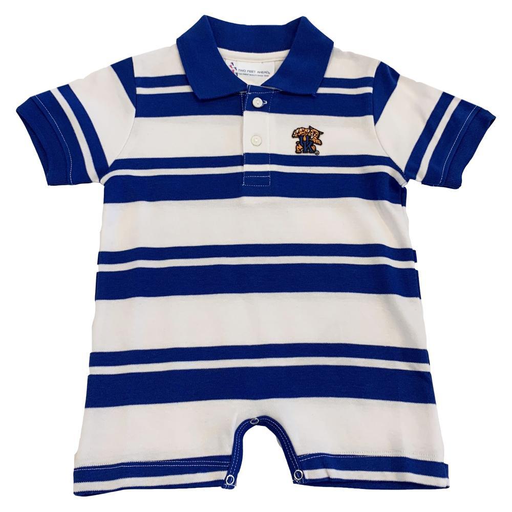 Kentucky Infant Boy Rugby Romper