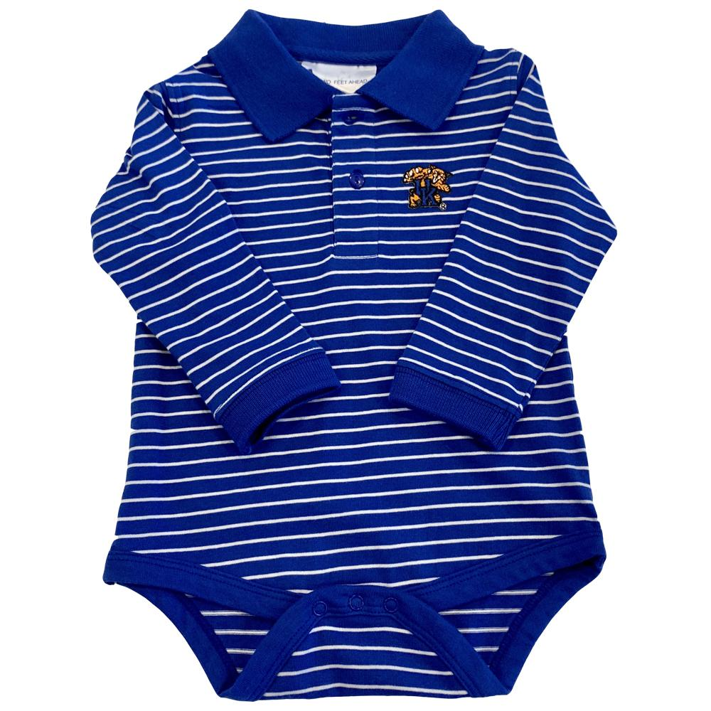 Kentucky Infant Striped Body Creeper