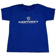 Kentucky Boys Shield Stacked Basketball Tee