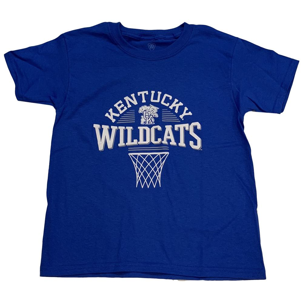 Kentucky Boys Arch Net Basketball Tee