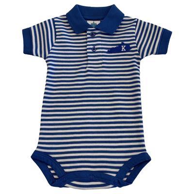 Kentucky Infant Striped Polo Bodysuit