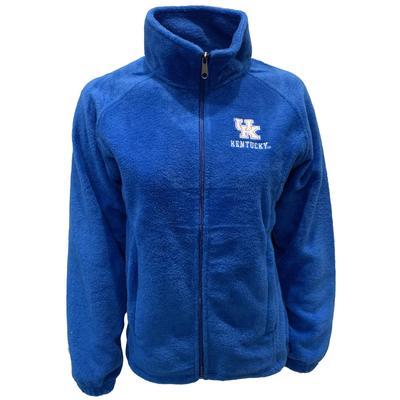 Kentucky Women's Sierra Microfleece Full Zip Jacket