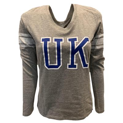 Kentucky 47' Women's Club Stripe Long Sleeve Tee