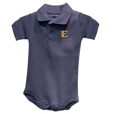 ETSU Infant Solid Polo Creeper