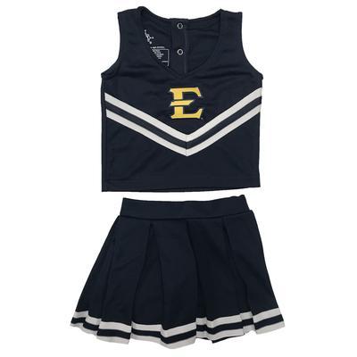 ETSU Toddler Cheerleader Dress