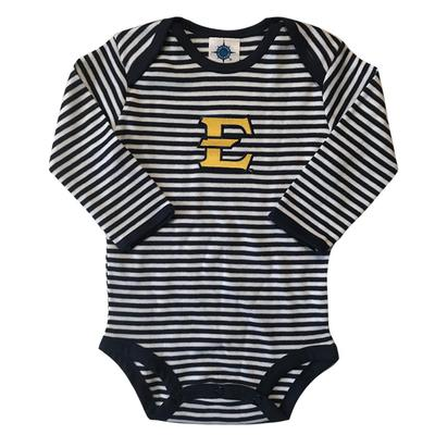 ETSU Infant Stripe L/S Bodysuit Onesie