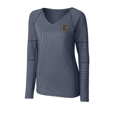 ETSU Cutter & Buck Women's Victory Long Sleeve Tee