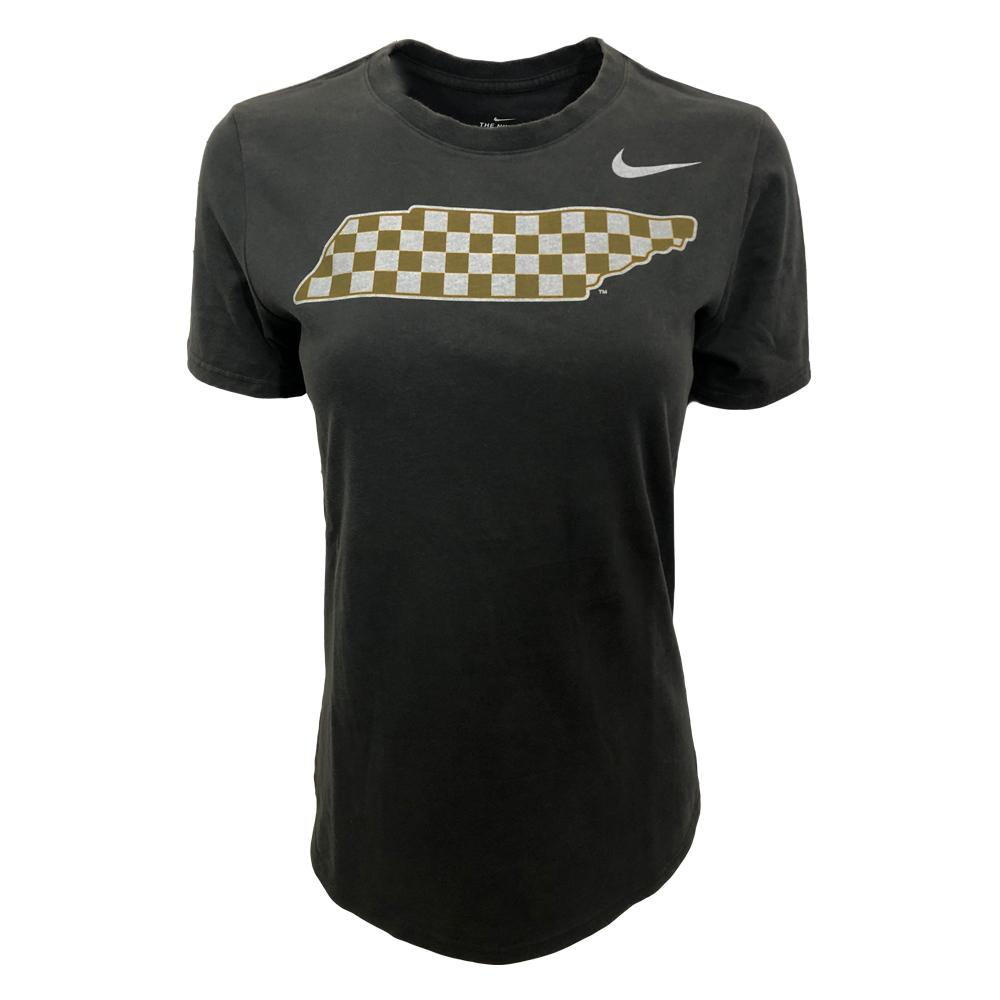Tennessee Nike Women's Checkerboard Pigment Cotton Tee