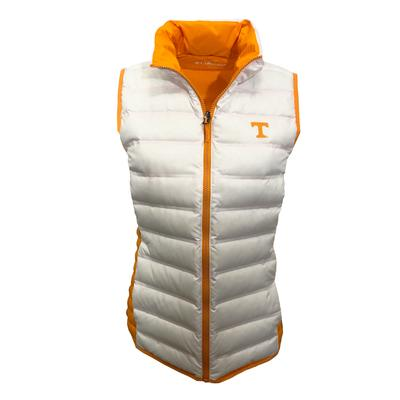 Tennessee Columbia Women's Lake 22 Reversible Vest