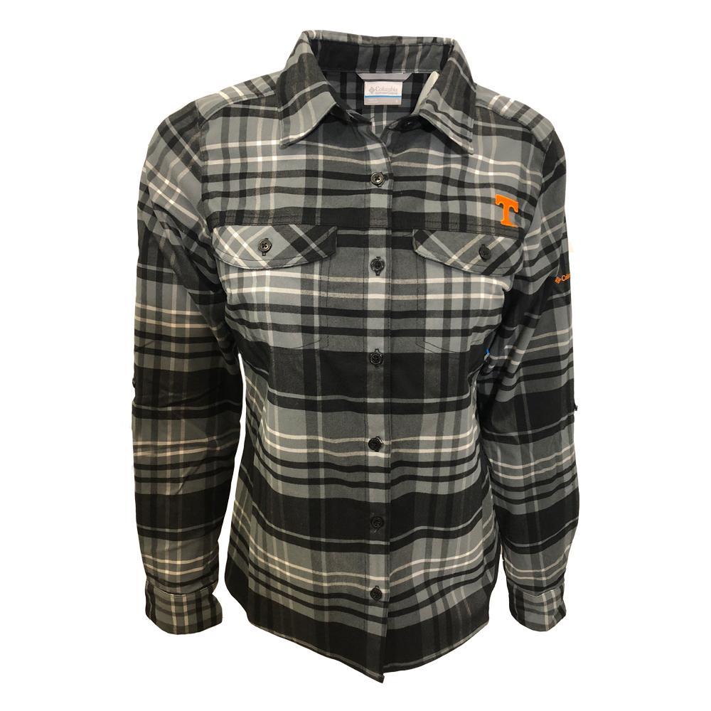 Tennessee Columbia Women's Silver Ridge Flannel Shirt