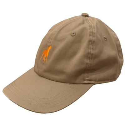 Tennessee Howling Smokey Adjustable Crew Hat KHAKI/TN_ORG