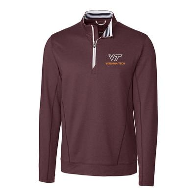 Virginia Tech Cutter & Buck Endurance Half Zip Pullover
