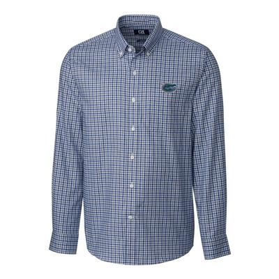 Florida Cutter & Buck Lakewood Check Woven Dress Shirt