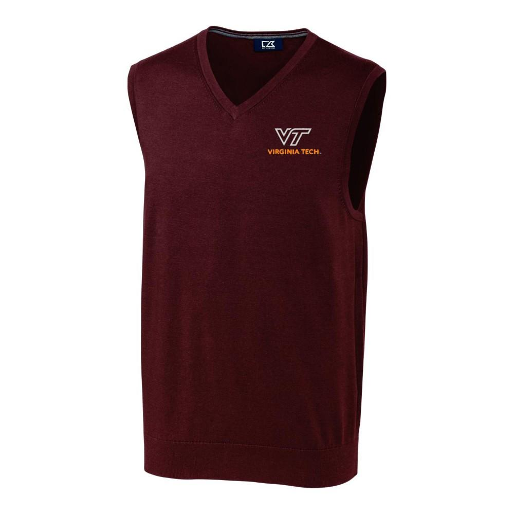 Virginia Tech Cutter & Buck Lakemont Vest
