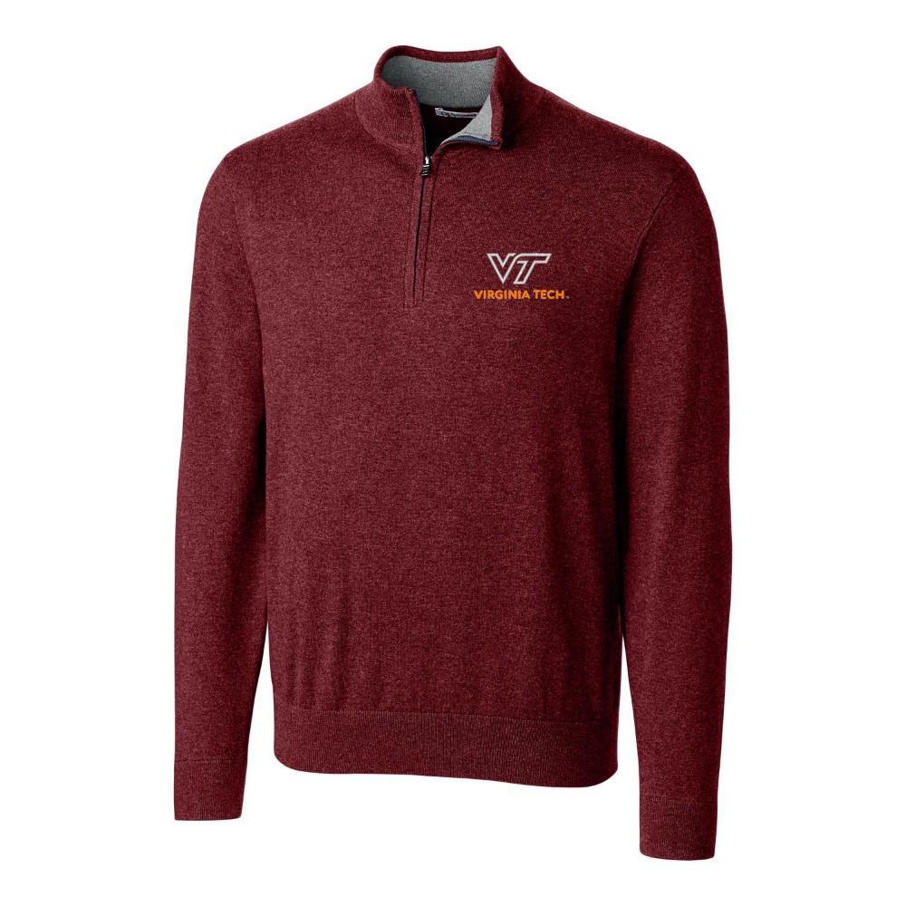 Virginia Tech Cutter & Buck Lakemont Half Zip Pullover