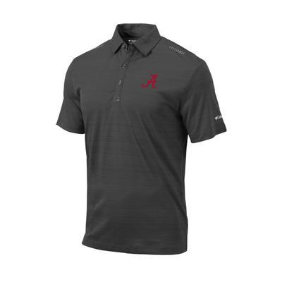 Alabama Columbia Golf Printed Dot Polo