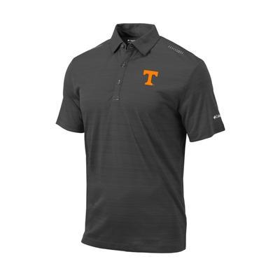 Tennessee Columbia Golf Printed Dot Polo