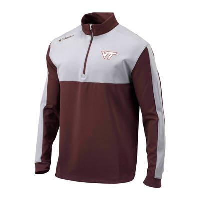 Virginia Tech Columbia Golf Waggle 1/4 Zip Pullover