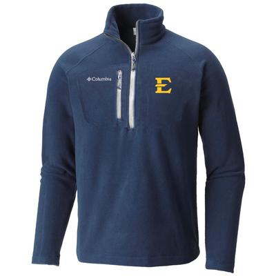 ETSU Columbia Fast Trek III Half Zip Fleece