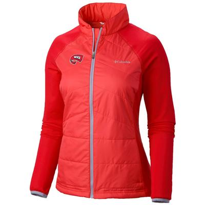 Western Kentucky Columbia Women's Mach 38 Hybrid Jacket