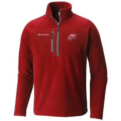 Western Kentucky Columbia Fast Trek III Half Zip Fleece