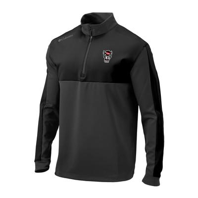 NC State Columbia Golf Waggle 1/4 Zip Pullover