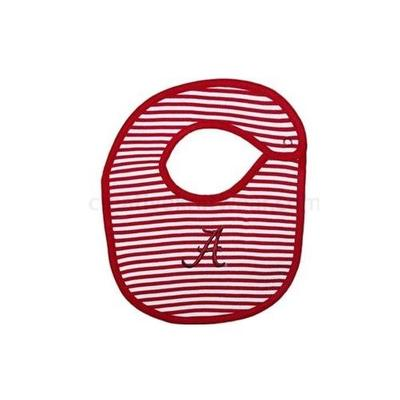Alabama Infant Striped Bib
