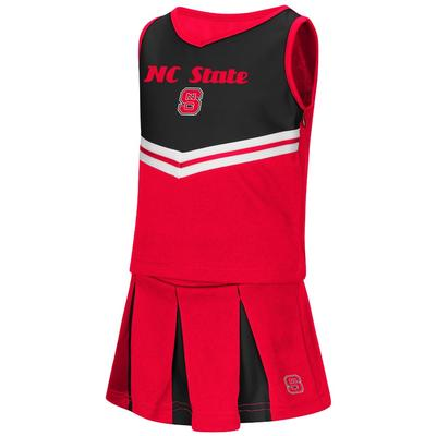 NC State Colosseum Toddler Pom Pom Cheer Set