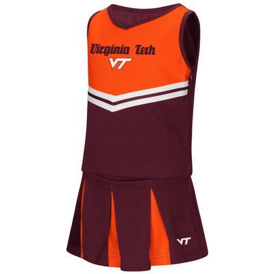 Virginia Tech Colosseum Toddler Pom Pom Cheer Set